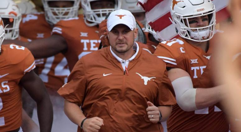 Texas Longhorns head coach Tom Herman