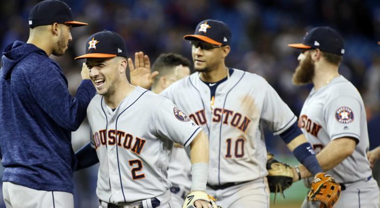Houston Astros at Toronto Blue Jays