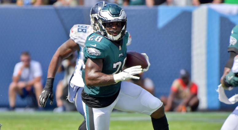 Philadelphia Eagles running back Wendell Smallwood
