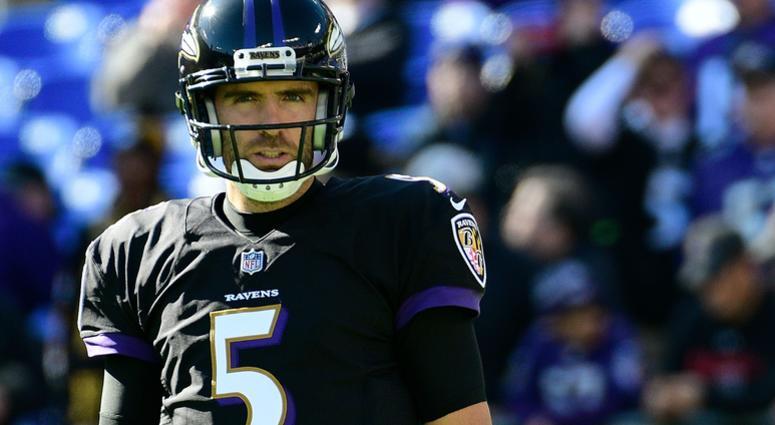 Baltimore Ravens quarterback Joe Flacco