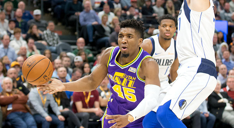 Dallas Mavericks at Utah Jazz