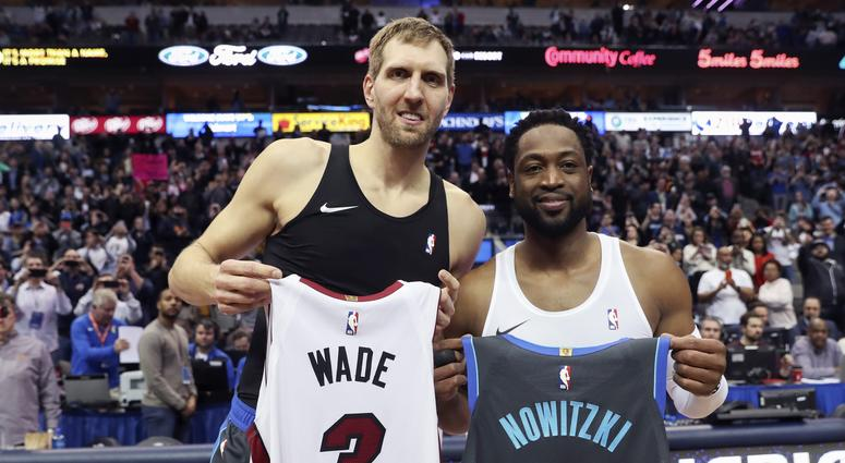 Dwayne Wade & Dirk Nowitzki