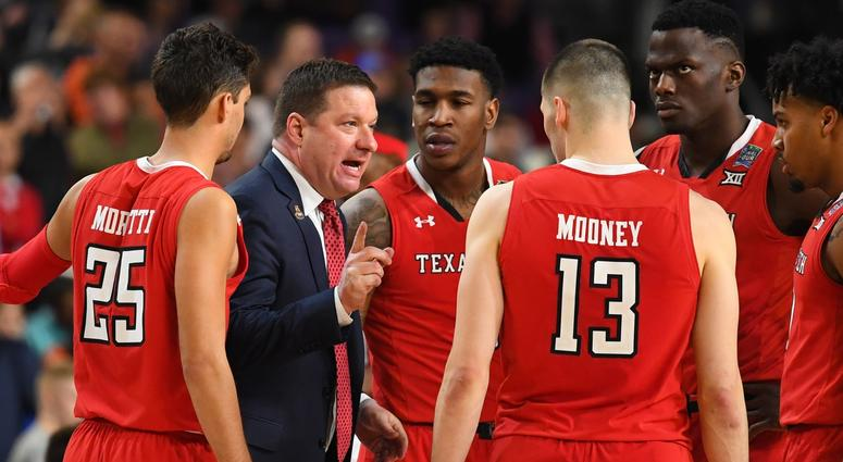 Texas Tech head coach Chris Beard