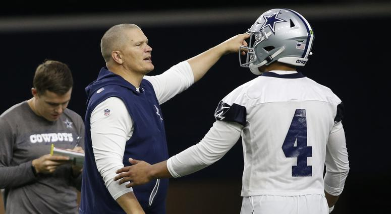 Jon Kitna and Dak Prescott