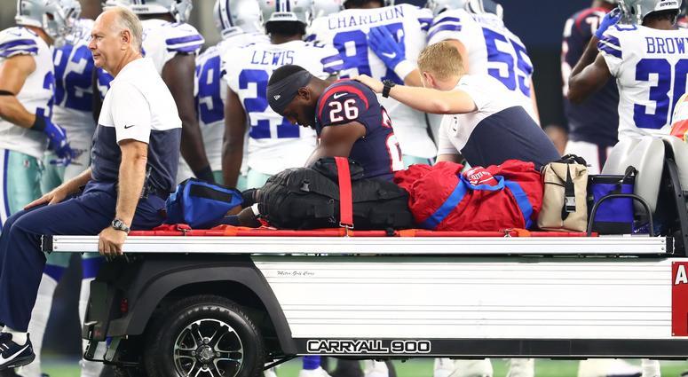 Houston Texans runnig back Lamar Miller