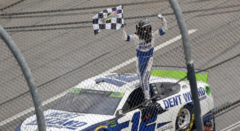 NASCAR Cup Series driver Ryan Blaney