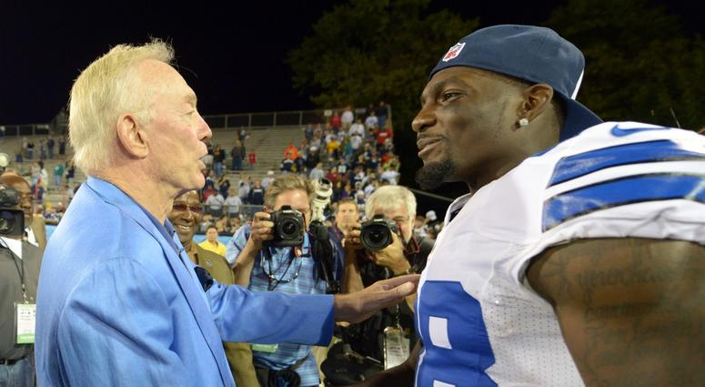Jerry Jones Proud Of Dez Bryant Expects Him To Get Cheered