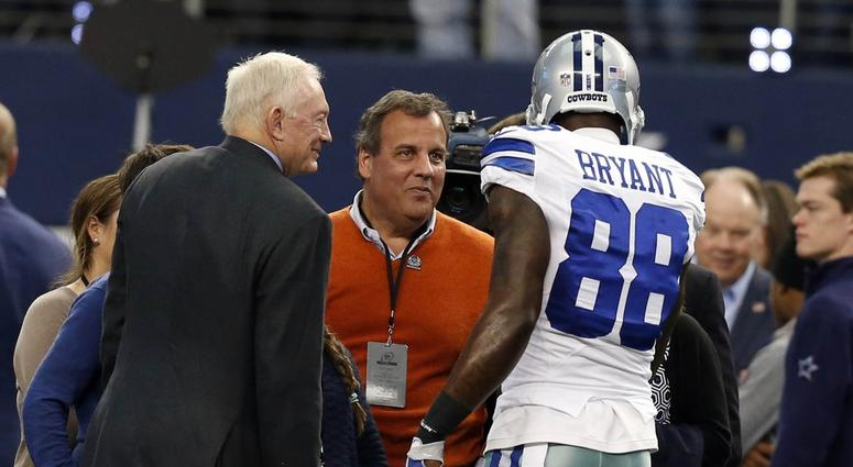 Jerry Jones Dez Bryant Seen Together At Beyonce Jay Z