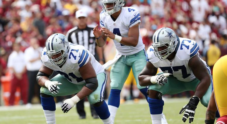 Dallas Cowboys offensive lineman