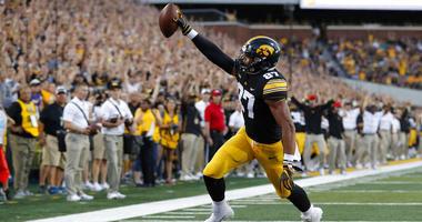 Iowa tight end Noah Fant