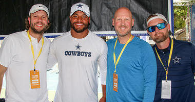 Cowboys QB Dak Prescott With GBag Nation