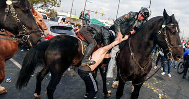 Andrew Tornetta, a Philadelphia Eagles fan accused of punching a police horse and a mounted officer