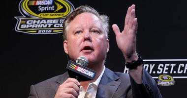 NASCAR CEO and Chairman, Brian France