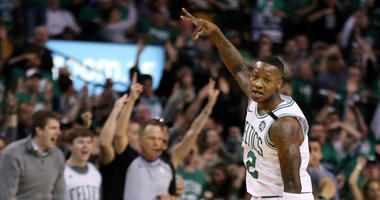 Boston Celtics guard Terry Rozier