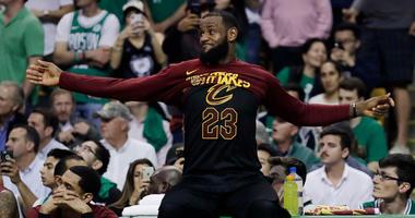 AP Cleveland Cavaliers forward LeBron James