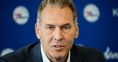 Philadelphia 76ers general manager Bryan Colangelo