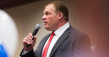 Republican Glenn Jacobs
