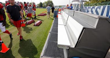 NFL Cooling Bench