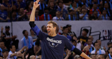 Dirk Nowitzki of Dallas Mavericks