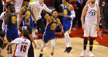 Golden State Warriors' Stephen Curry