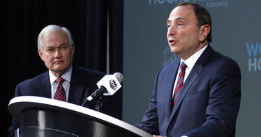 NHL Commissioner Gary Bettman