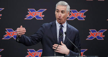 XFL Football Commissioner Oliver Luck