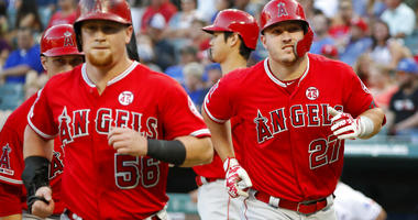 Angels vs Rangers