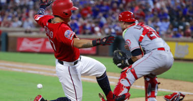 LA Angels vs Texas Rangers