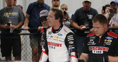 Keselowski Wins Pole For Cup Race At Richmond