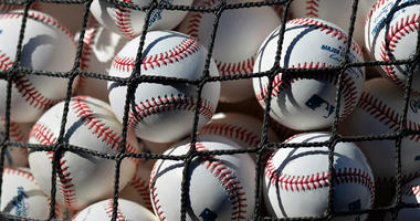 Major League baseballs