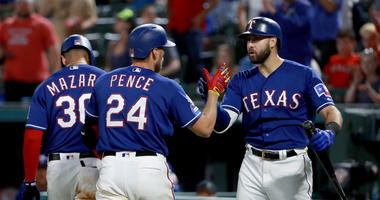 Joey Gallo and Hunter Pence