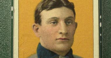 Famous Baseball Card of Honus Wagner