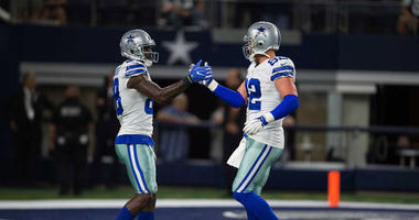 Dallas Cowboys wide receiver Dez Bryant (88) and tight end Jason Witten