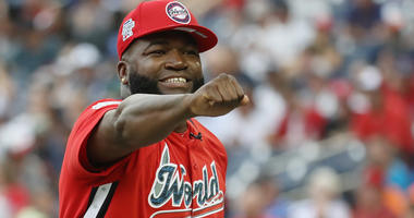 David Ortiz at the All-Star Futures game.