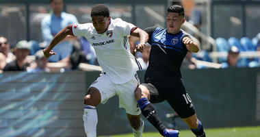 Atuahene Scores In Debut, FC Dallas Ties Earthquakes 2-2
