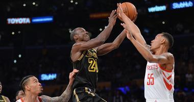 Houston Rockets at Los Angeles Lakers