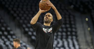 San Antonio Spurs guard Tony Parker