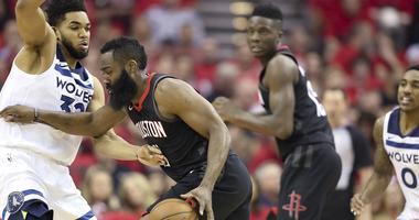 Minnesota Timberwolves at Houston Rockets