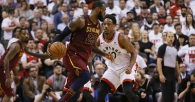 Cleveland Cavaliers at Toronto Raptors