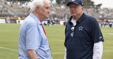 Gil Brandt and Jerry Jones