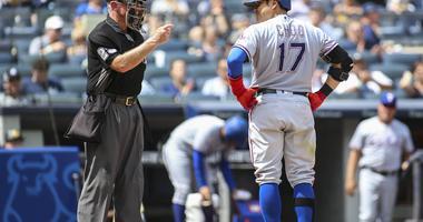 Texas Rangers at New York Yankees