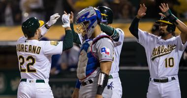 Texas Rangers at Oakland Athletics