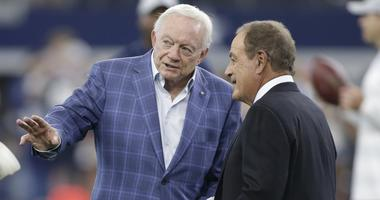 Jerry Jones, Dallas Cowboys owner,