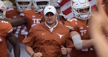 Texas Longhorns head coach Tom Herman