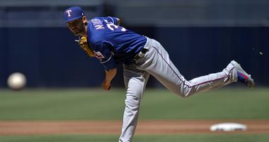 Texas Rangers starting pitcher Mike Minor