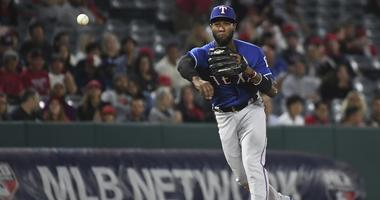Texas Rangers shortstop Jurickson Profar