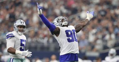 Dallas Cowboys defensive end DeMarcus Lawrence
