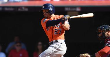 Houston Astros second baseman Jose Altuve