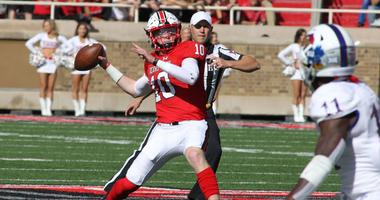 Texas Tech Red Raiders quarterback Alan Bowman