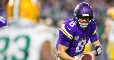 Minnesota Vikings quarterback Kirk Cousins